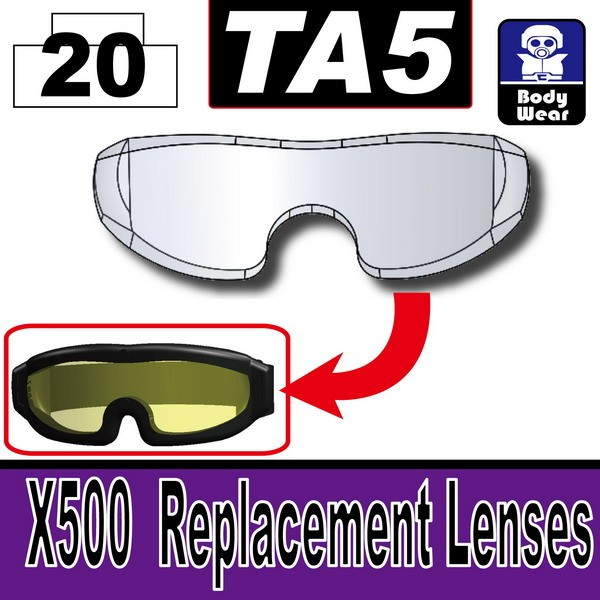 Mx Clear_TA5(X500  Replacement Lenses)