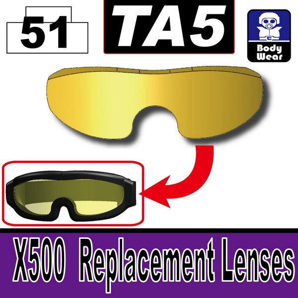 Gold_TA5(X500  Replacement Lenses)