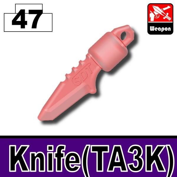 Transparent Red_Knife(TA3K)