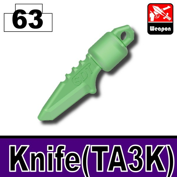 Transparent Green_Knife(TA3K)
