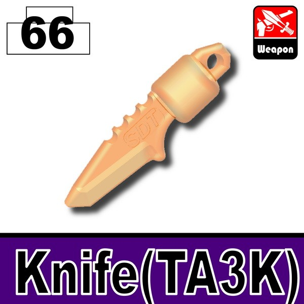 Transparent Orange_Knife(TA3K)