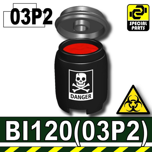 Black-P2_BI120P(Plastic Drum)+Liquid