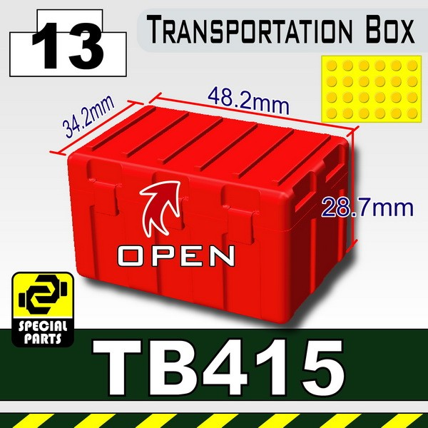 Red_TB415(Transportion Box)