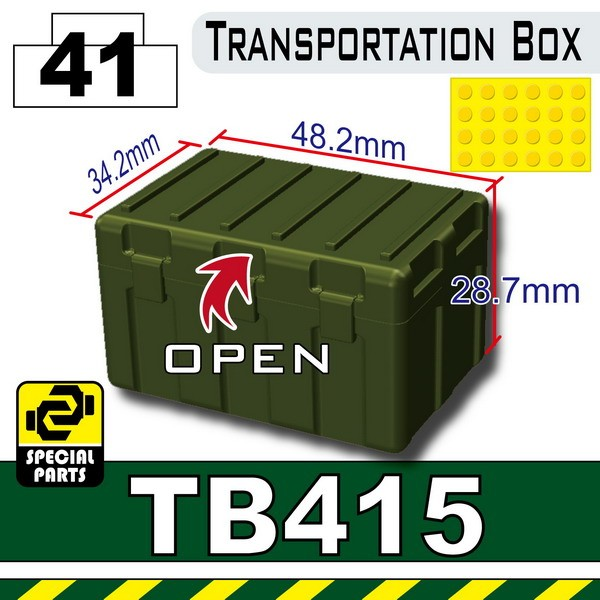 Tank Green_TB415(Transportion Box)