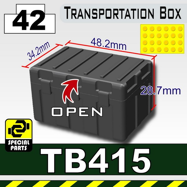 Iron Black_TB415(Transportion Box)