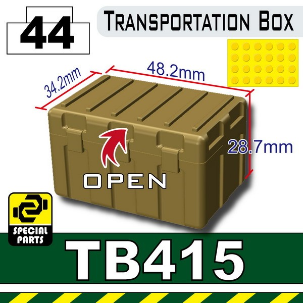 Dark Tan-2_TB415(Transportion Box)