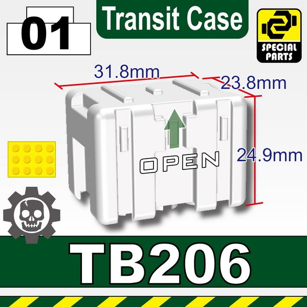 White_TB206(Transit Case)