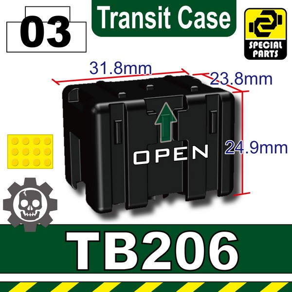 Black_TB206(Transit Case)