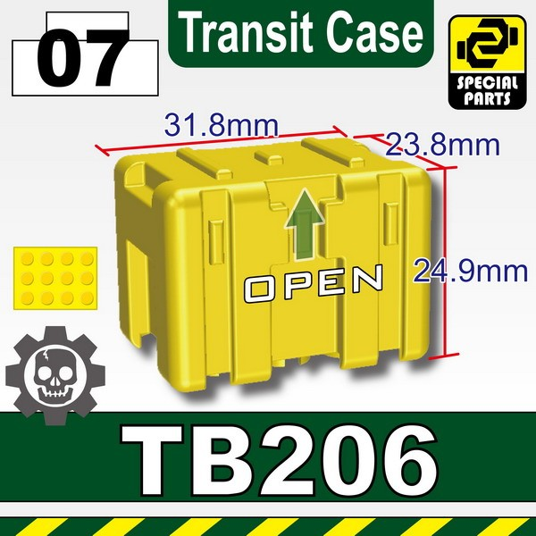 Yellow_TB206(Transit Case)