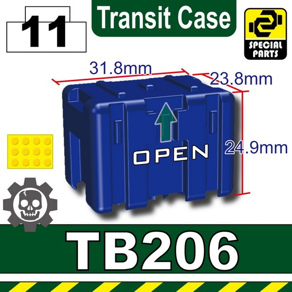 Blue_TB206(Transit Case)