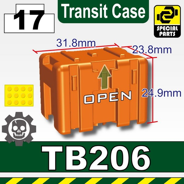 Orange_TB206(Transit Case)