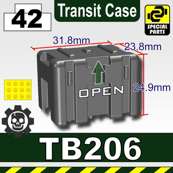 Iron Black_TB206(Transit Case)