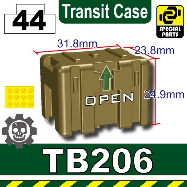 Dark Tan-2_TB206(Transit Case)