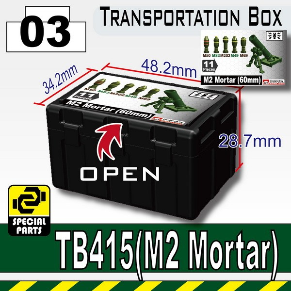 Black_TB415(Transportion Box-Printed M2 Mortar)