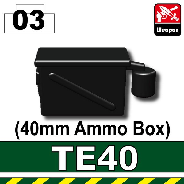 Black_TE40(40mm Ammo Box)