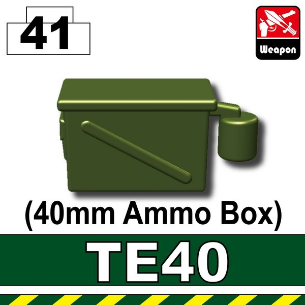 Tank Green_TE40(40mm Ammo Box)