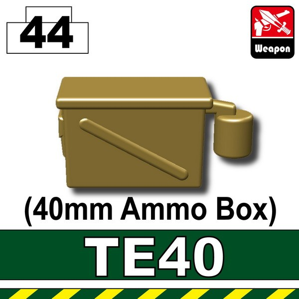 Dark Tan-2_TE40(40mm Ammo Box)