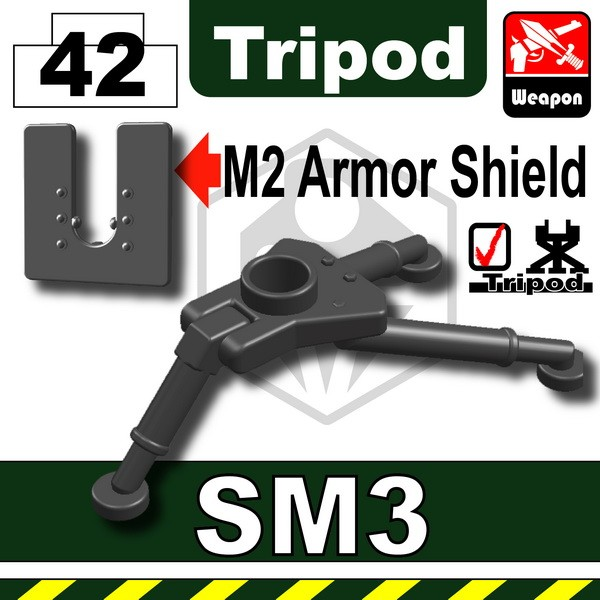 Iron Block_SM3 Tripod+M2 Armor Shield