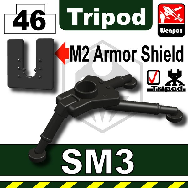 Prarl Dark Block_SM3 Tripod+M2 Armor Shield