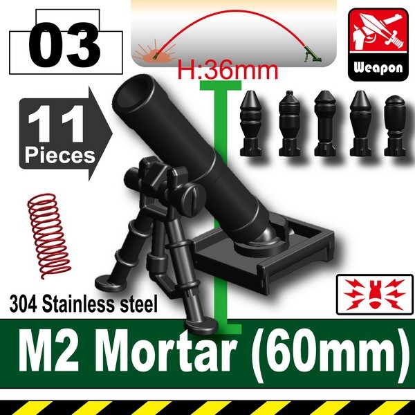 Black_M2 Mortar(60mm)