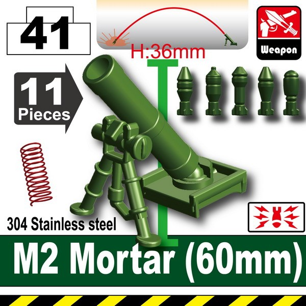 Tank Green_M2 Mortar(60mm)