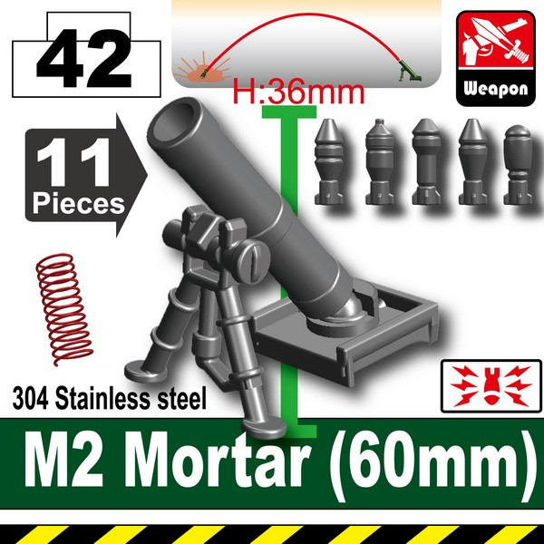 Iron Black_M2 Mortar(60mm)