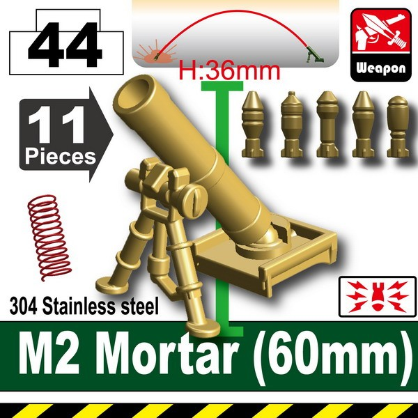 Dark Tan-2_M2 Mortar(60mm)