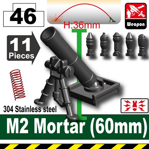 Pearl Dark Black_M2 Mortar(60mm)