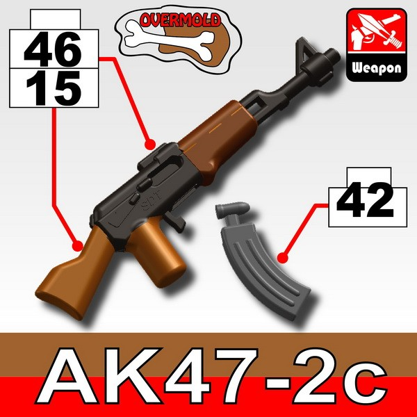 Pearl Dark Black+Brown(4615)_AK47/2C+KA1(Iron Black)