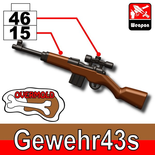 Pearl Dark Black+Brown(4615)_Gewehr43s