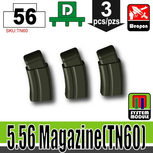(56)Deep Gray Green_5.56 Magazine(TN60)