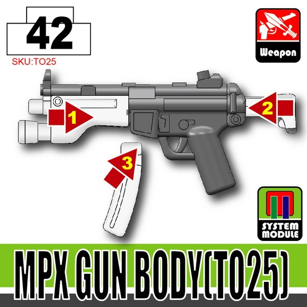 Iron Black_MPX Gun Body(TO25)