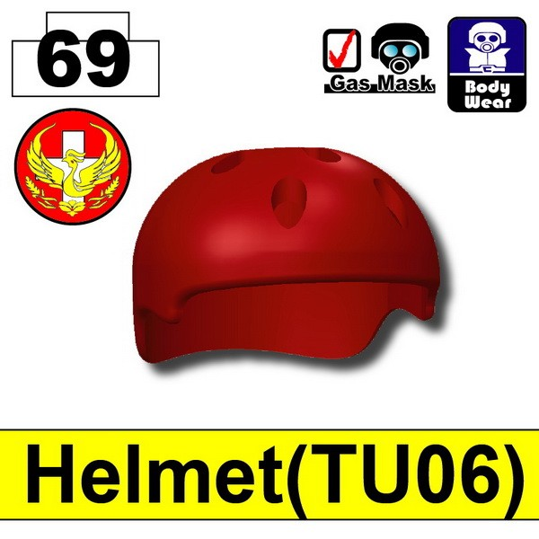 Blood Red_Helmet(TU06)