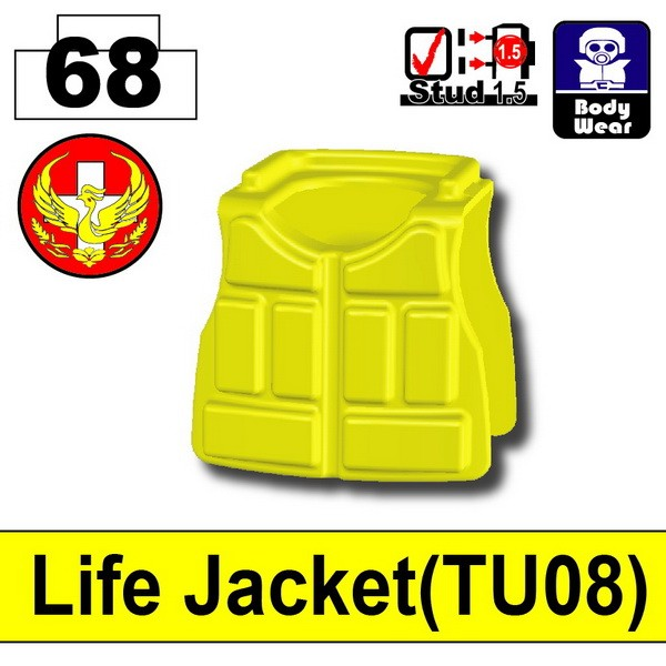 Lighe Yellow_Life Jacket(TU08)