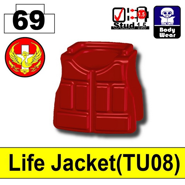 Blood Red_Life Jacket(TU08)