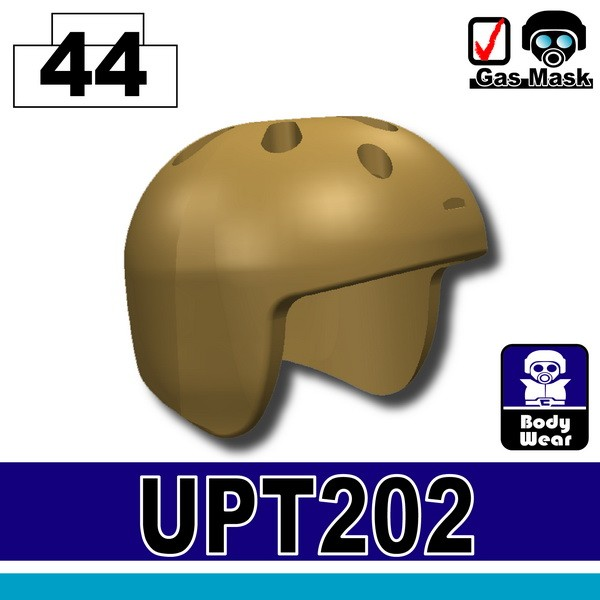 (44)Dark Tan_Helmet(UPT-202)