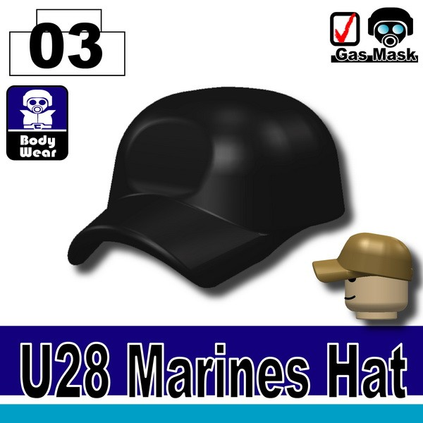 (03)Black_Marines Hat(U28)