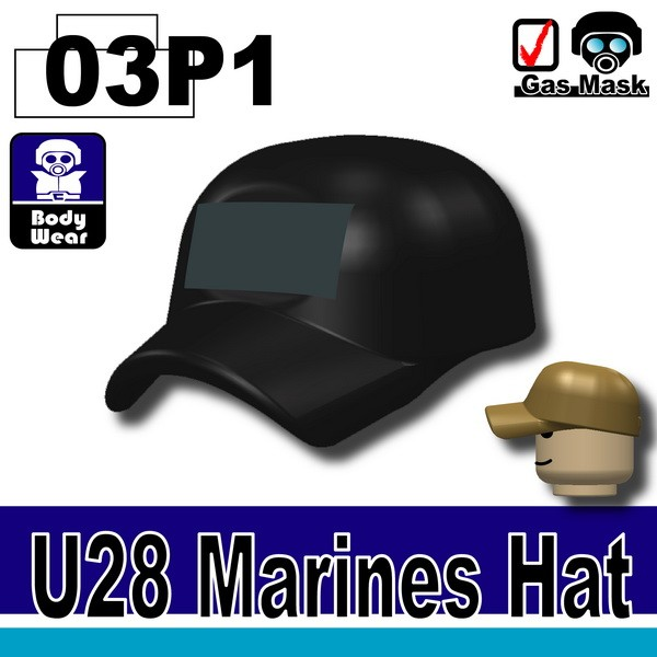 (03)Black-P1_Marines Hat(U28)