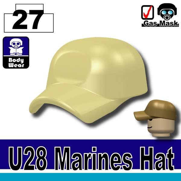 (27)Tan_Marines Hat(U28)