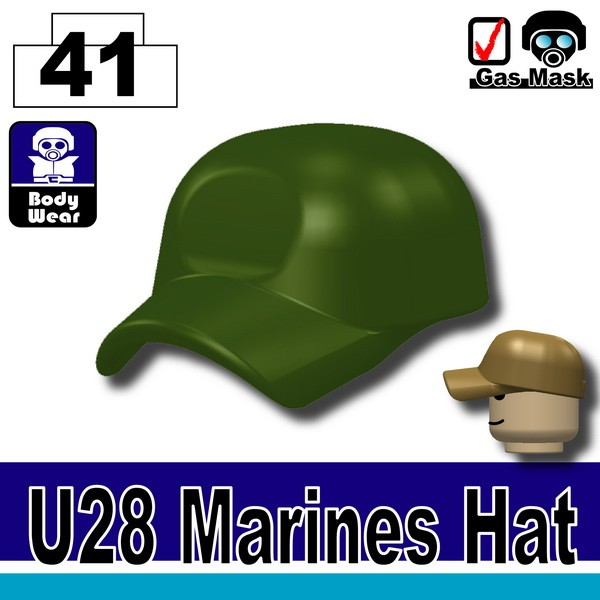 (41)Tank Green_Marines Hat(U28)