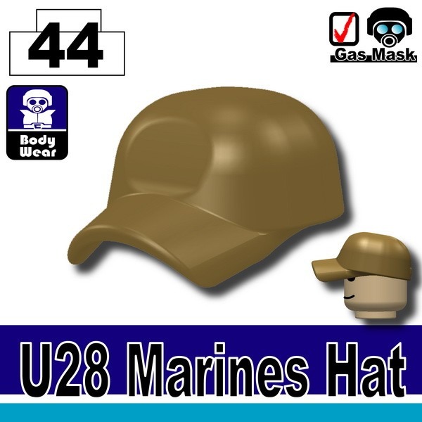 (44)Dark Tan_Marines Hat(U28)