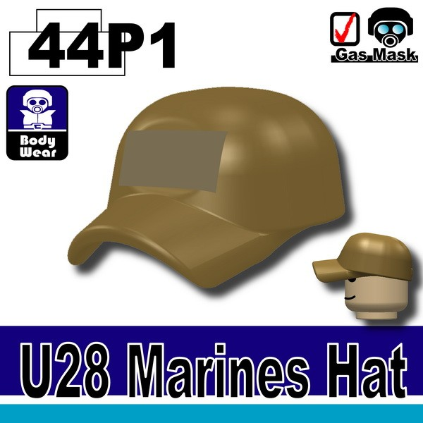 (44)Dark Tan-P1_Marines Hat(U28)