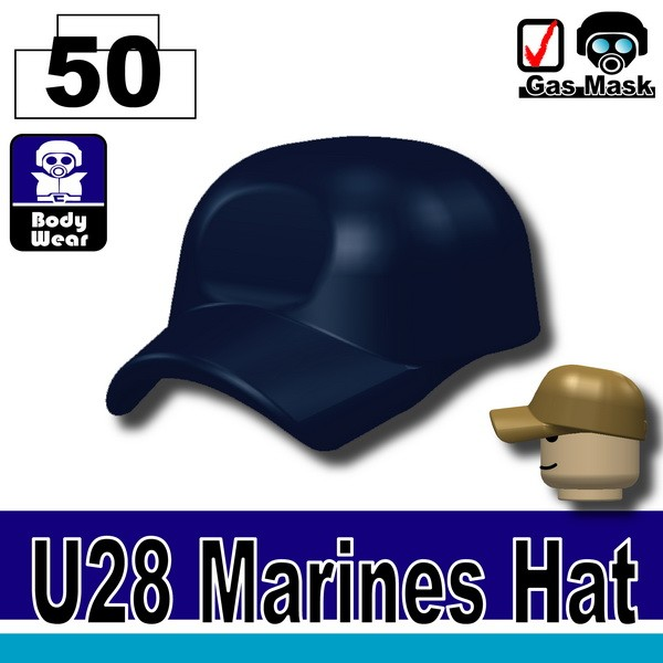 (50)Dark Blue_Marines Hat(U28)