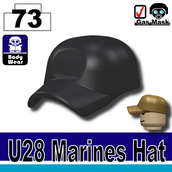 (73)Combat Black_Marines Hat(U28)
