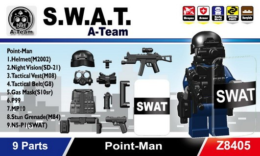 S.W.A.T. A-Team(Point-Man)
