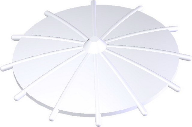 Japanese Umbrella -White