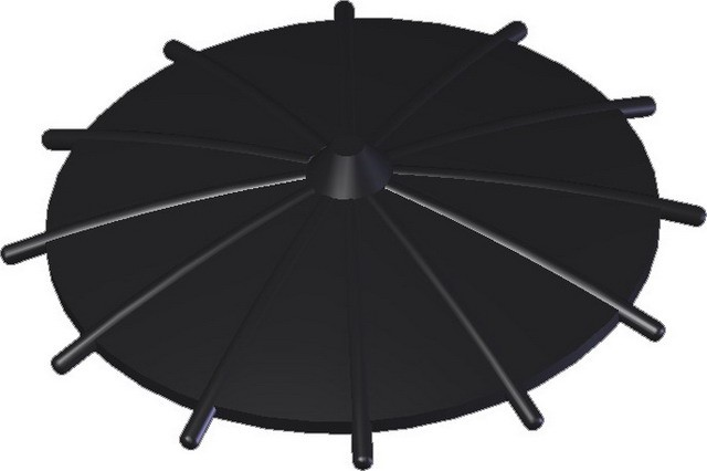 Japanese Umbrella -Black