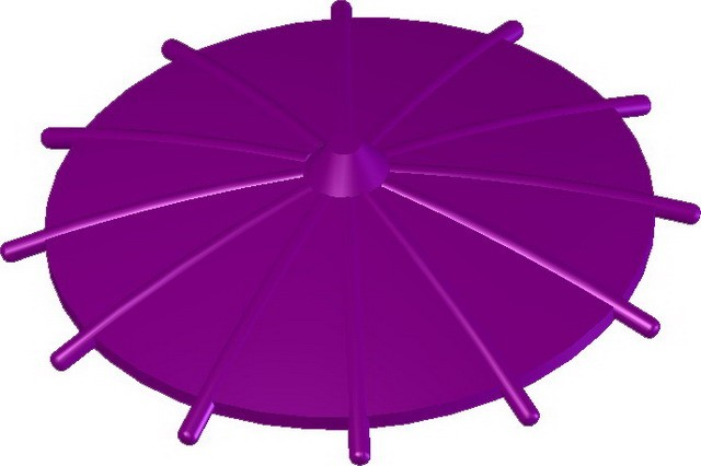 Japanese Umbrella -Purple