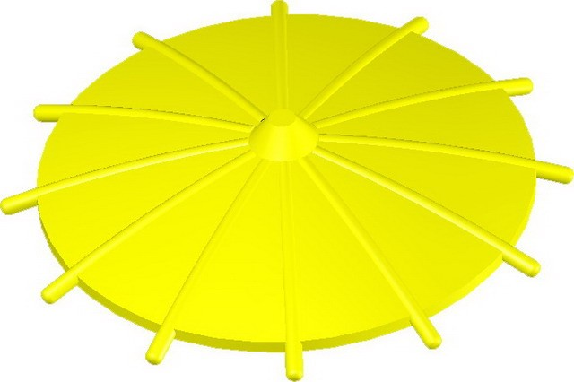 Japanese Umbrella -Yellow