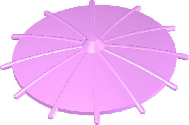 Japanese Umbrella -Bright Pink